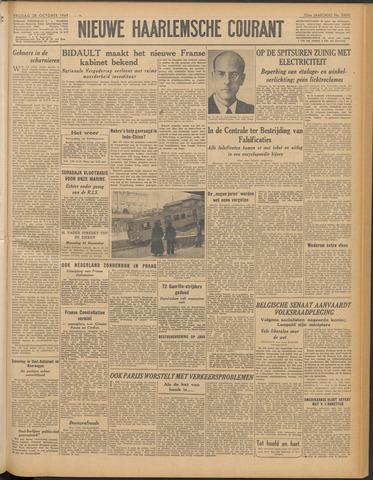 Nieuwe Haarlemsche Courant 1949-10-28