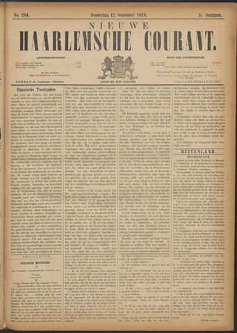 Nieuwe Haarlemsche Courant 1878-09-12