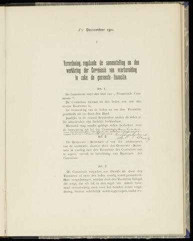 Raadsnotulen Heemstede 1911-12-14