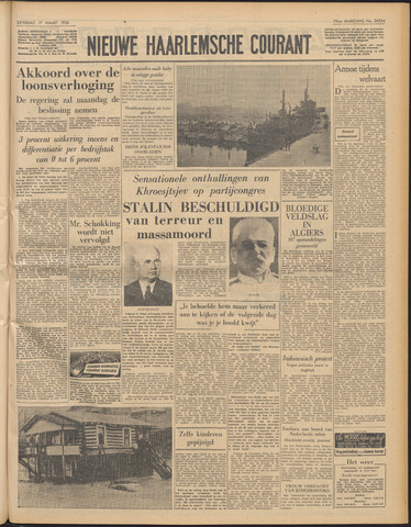 Nieuwe Haarlemsche Courant 1956-03-17