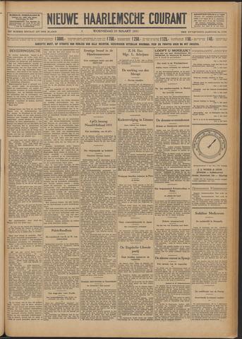Nieuwe Haarlemsche Courant 1931-03-25
