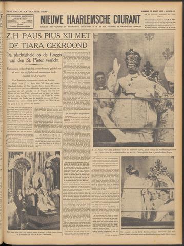 Nieuwe Haarlemsche Courant 1939-03-13