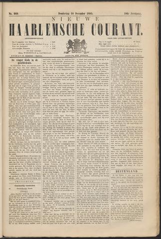 Nieuwe Haarlemsche Courant 1885-12-10