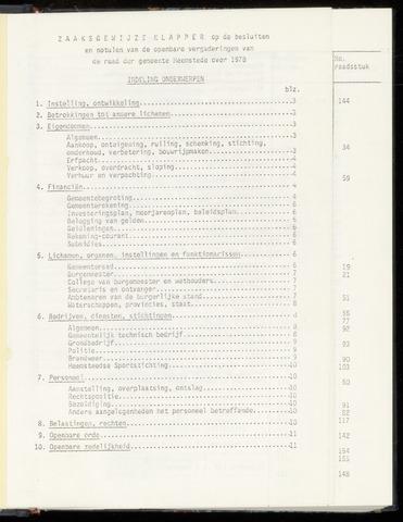 Raadsnotulen Heemstede 1978-01-01