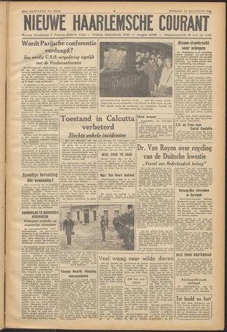 Nieuwe Haarlemsche Courant 1946-08-20
