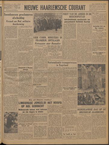 Nieuwe Haarlemsche Courant 1947-05-06