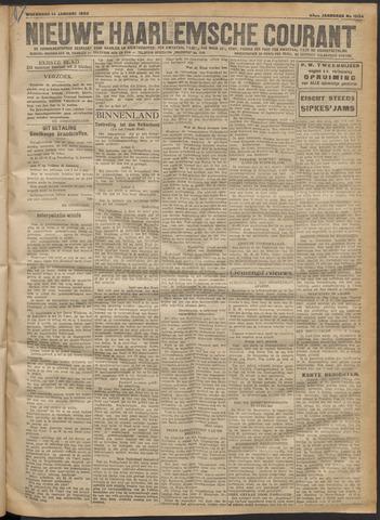 Nieuwe Haarlemsche Courant 1920-01-14