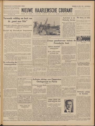 Nieuwe Haarlemsche Courant 1940-04-24