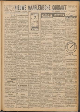 Nieuwe Haarlemsche Courant 1922-12-04