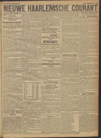 Nieuwe Haarlemsche Courant 1917-08-11