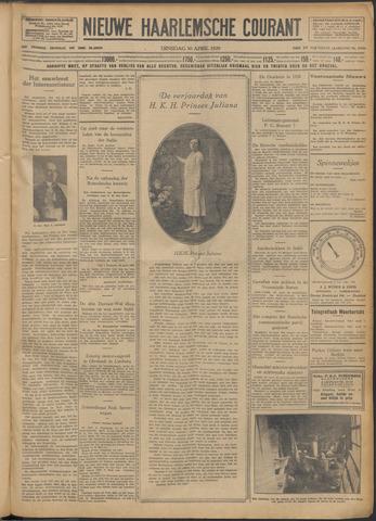 Nieuwe Haarlemsche Courant 1929-04-30