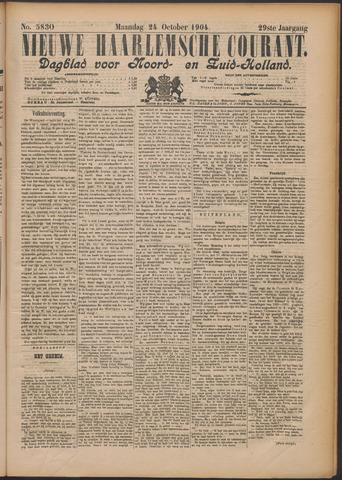 Nieuwe Haarlemsche Courant 1904-10-24