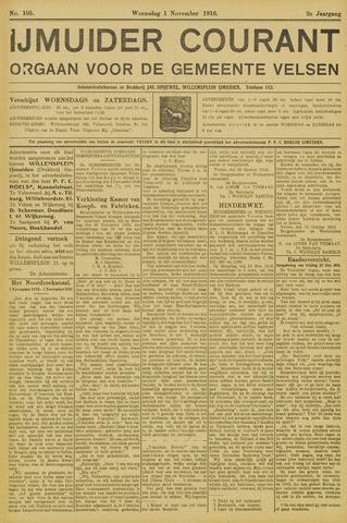 IJmuider Courant 1916-11-01
