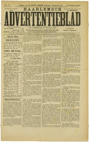 Haarlemsch Advertentieblad 1895-02-27