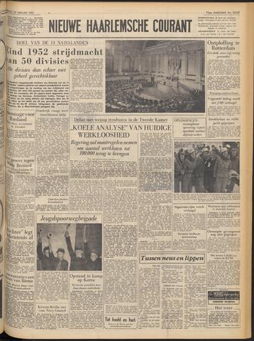 Nieuwe Haarlemsche Courant 1952-02-22