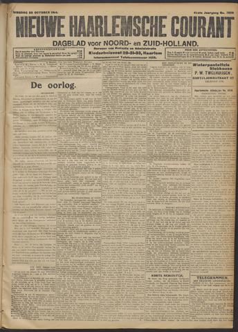 Nieuwe Haarlemsche Courant 1914-10-20