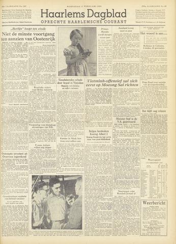 Haarlem's Dagblad 1954-02-17