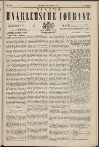 Nieuwe Haarlemsche Courant 1882-10-19