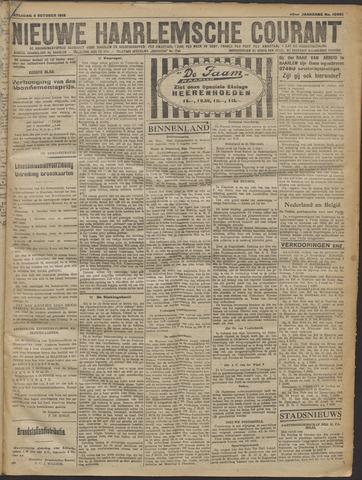 Nieuwe Haarlemsche Courant 1919-10-04