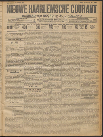 Nieuwe Haarlemsche Courant 1911-04-22