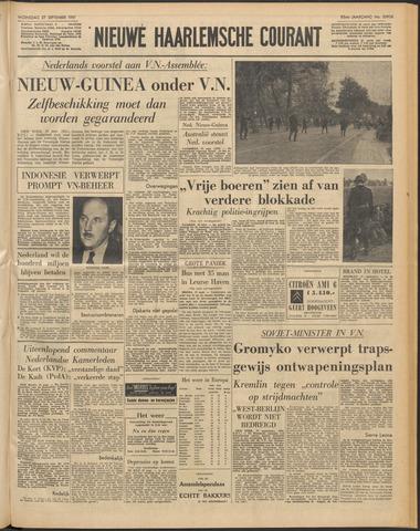Nieuwe Haarlemsche Courant 1961-09-27