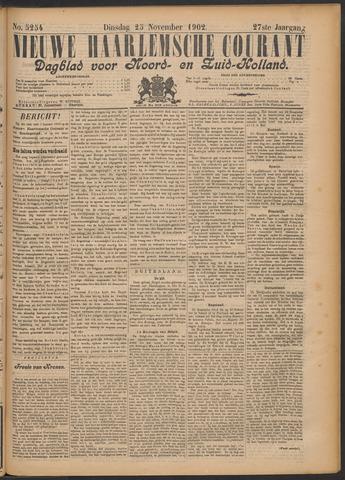 Nieuwe Haarlemsche Courant 1902-11-25