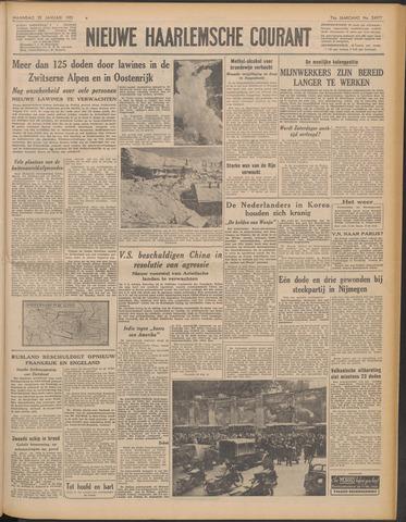 Nieuwe Haarlemsche Courant 1951-01-22