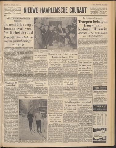 Nieuwe Haarlemsche Courant 1958-02-14
