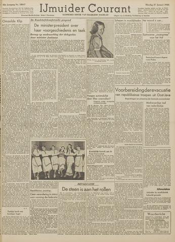 IJmuider Courant 1948-01-27