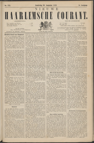 Nieuwe Haarlemsche Courant 1883-08-30