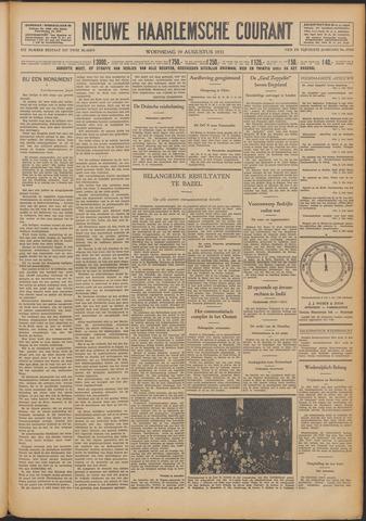 Nieuwe Haarlemsche Courant 1931-08-19