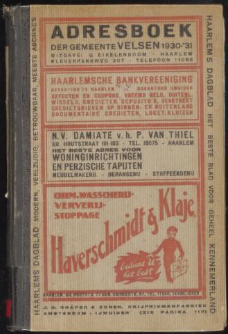 Adresboeken Velsen 1930