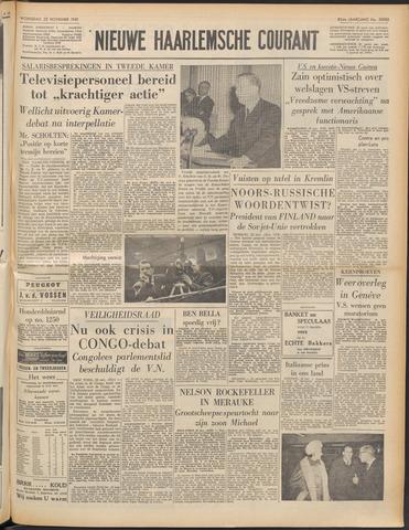 Nieuwe Haarlemsche Courant 1961-11-22