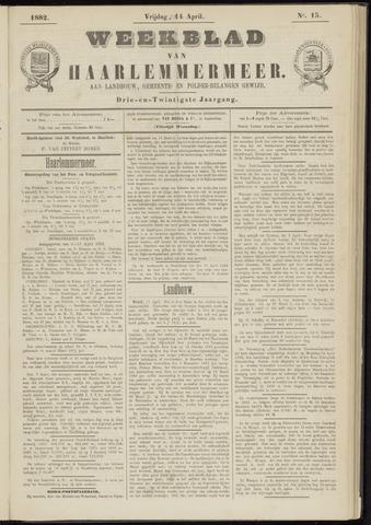 Weekblad van Haarlemmermeer 1882-04-14