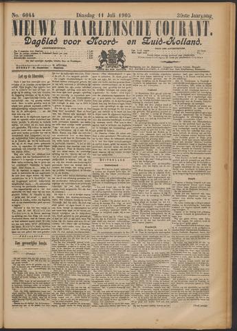 Nieuwe Haarlemsche Courant 1905-07-11