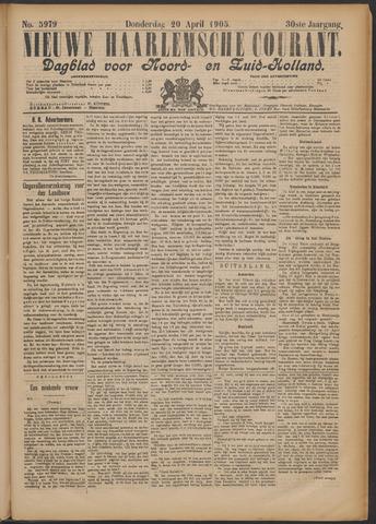 Nieuwe Haarlemsche Courant 1905-04-20