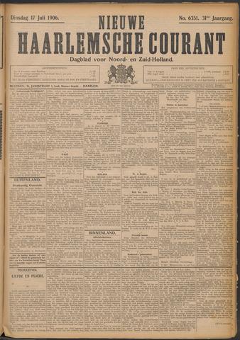 Nieuwe Haarlemsche Courant 1906-07-17