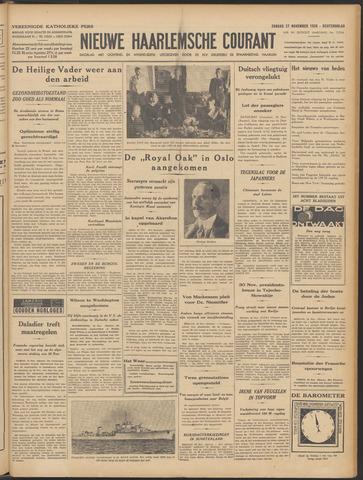 Nieuwe Haarlemsche Courant 1938-11-27