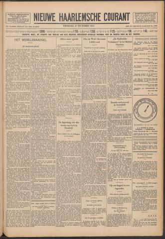 Nieuwe Haarlemsche Courant 1931-10-27