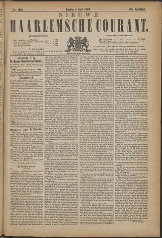 Nieuwe Haarlemsche Courant 1893-06-04