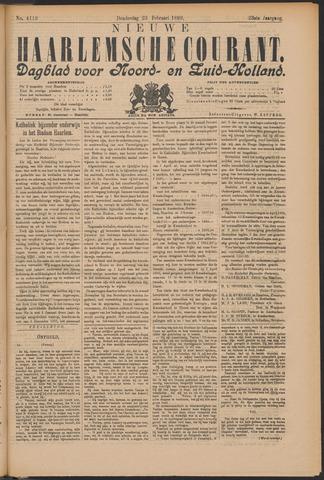 Nieuwe Haarlemsche Courant 1899-02-23