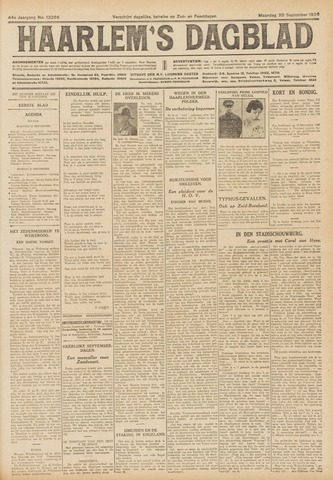 Haarlem's Dagblad 1926-09-20
