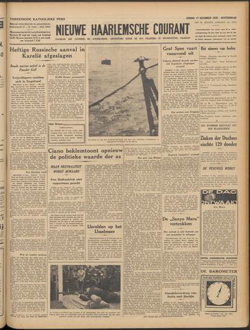 Nieuwe Haarlemsche Courant 1939-12-17
