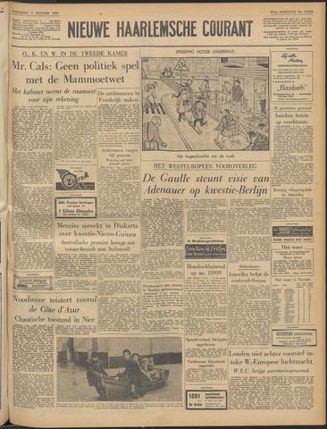 Nieuwe Haarlemsche Courant 1959-12-02