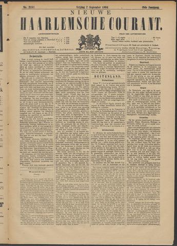 Nieuwe Haarlemsche Courant 1894-09-07