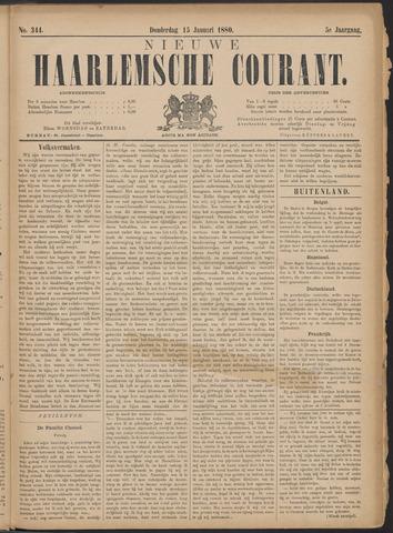 Nieuwe Haarlemsche Courant 1880-01-15