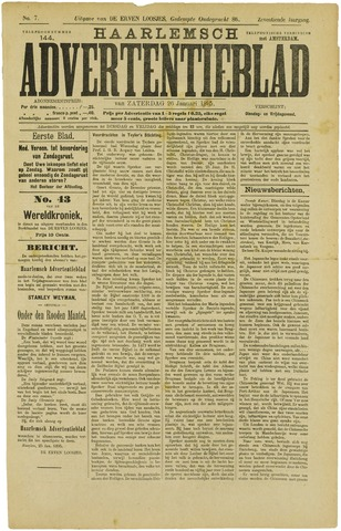 Haarlemsch Advertentieblad 1895-01-26