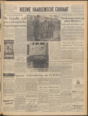 Nieuwe Haarlemsche Courant 1962-06-09