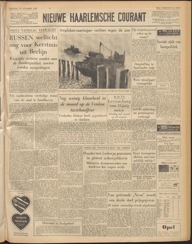 Nieuwe Haarlemsche Courant 1958-11-22