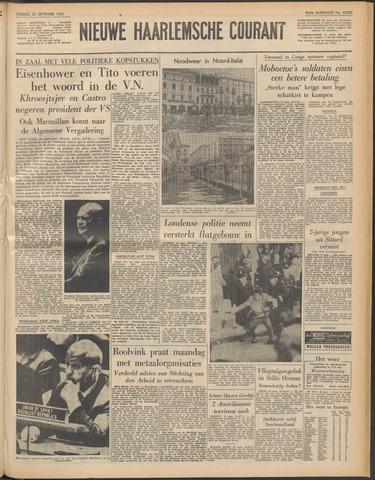 Nieuwe Haarlemsche Courant 1960-09-23